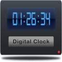 Digital World Clock Widget