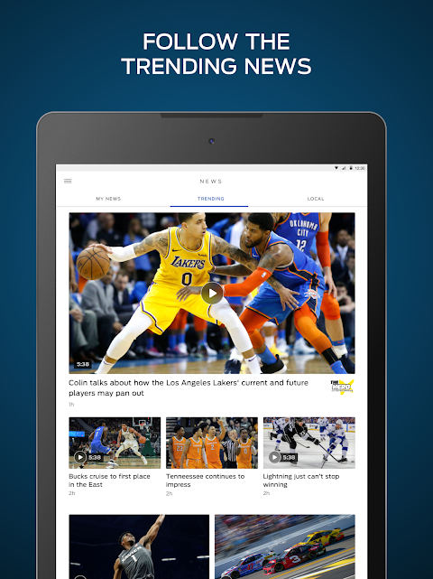 FOX Sports: Live Streaming, Scores & News screenshot 5