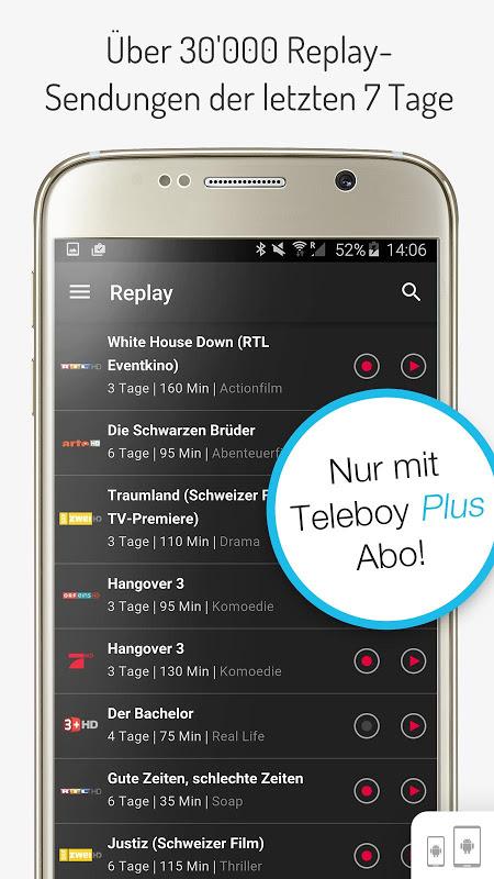 teleboy aufnahmen