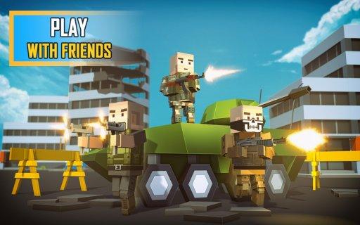 Pixel Grand Battle 3D screenshot 3