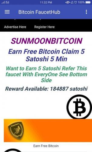 bitcoins pe faucethub