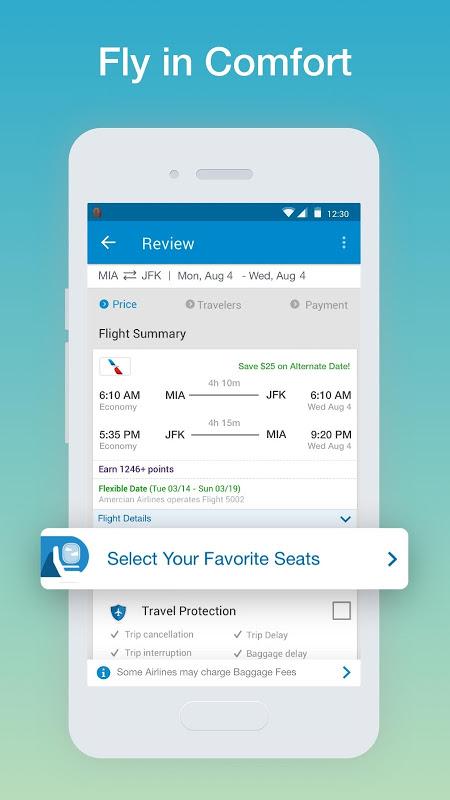 CheapOair: Cheap Flights, Cheap Hotels Booking App screenshot 2