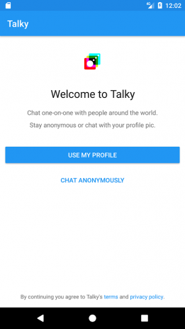 Talky Talk - Chat with people 1 0 Download APK for Android - Aptoide