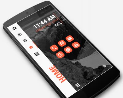 Strip Launcher 2019 - stylish theme screenshot 1