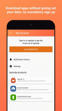 Aptoide 9. 6. 2. 0 télécharger pour android apk gratuitement.