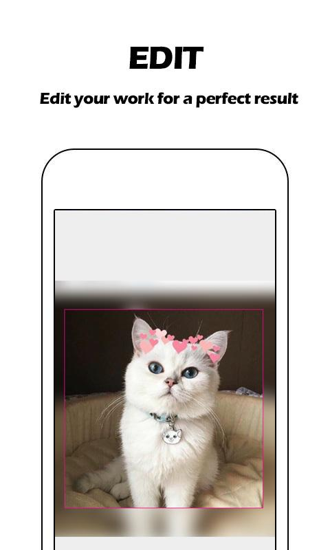 Heart Crown Photo Editor - Live Face, Collage screenshot 2