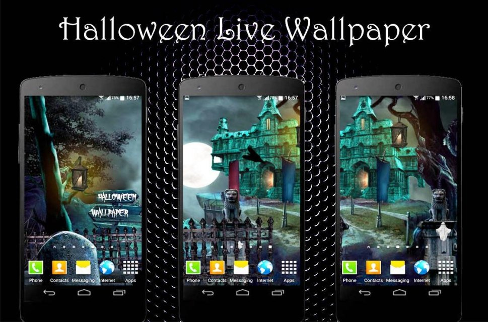 haunted house live wallpaper download apk for android