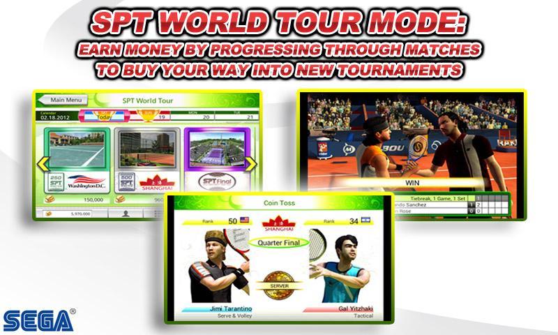 Virtua Tennis™ Challenge screenshot 2