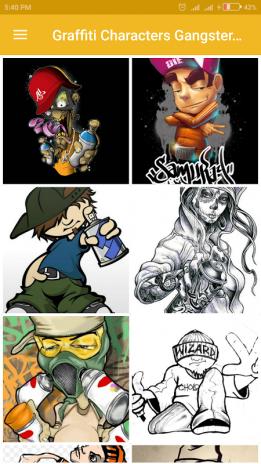Graffiti Charaktere Gangster Boys 10 Laden Sie Apk Für Android