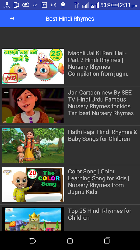 Hindi Rhymes And Song For Kids 1 1 Download Android Apk Aptoide Hindi children songs lyrics with translations: hindi rhymes and song for kids 1 1