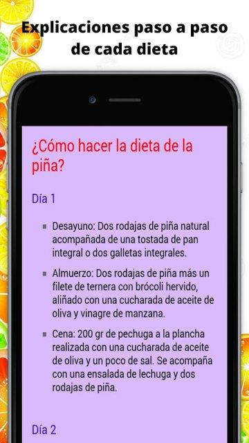 Dieta para Adelgazar con Fruta   Download APK for Android