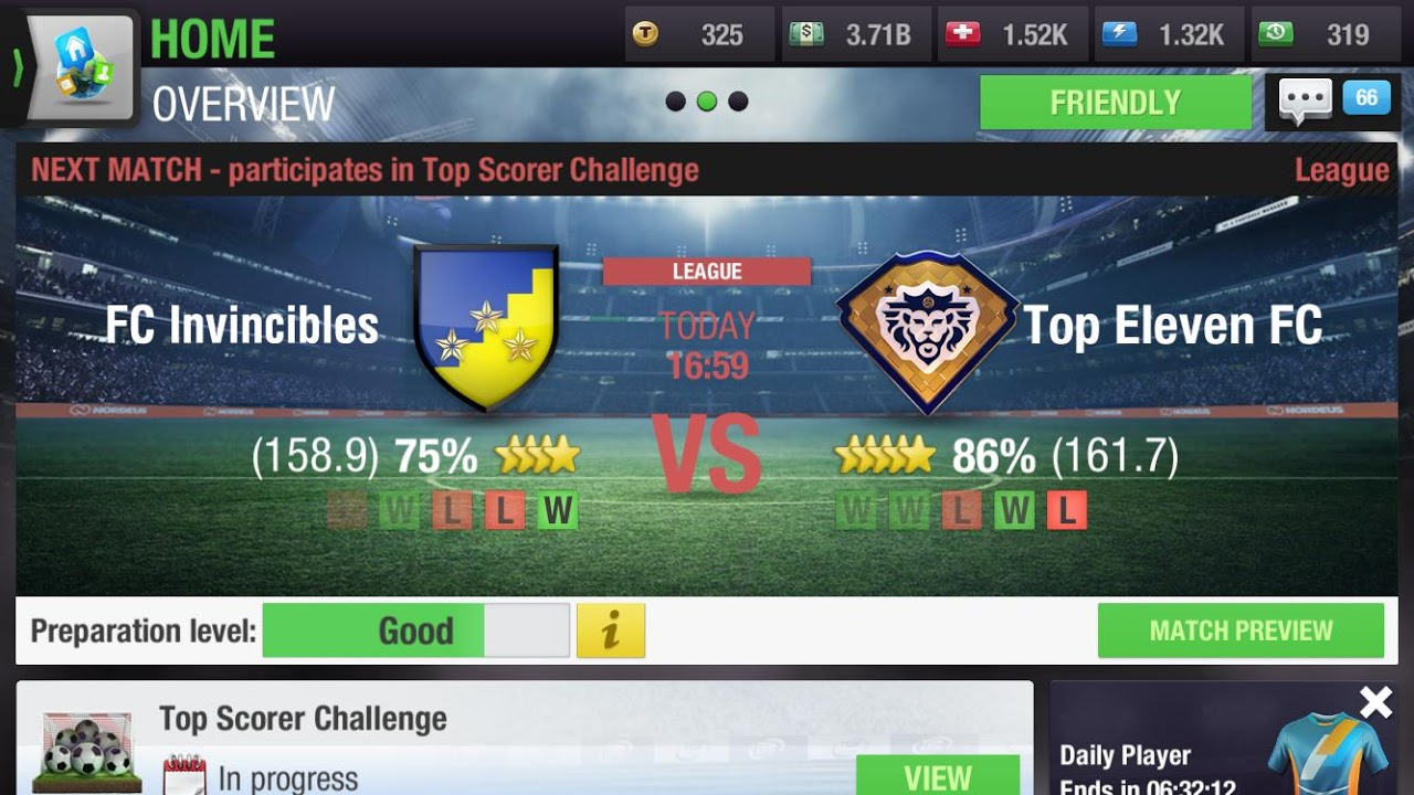 Top Eleven 2019 - Be a Football Manager screenshot 1