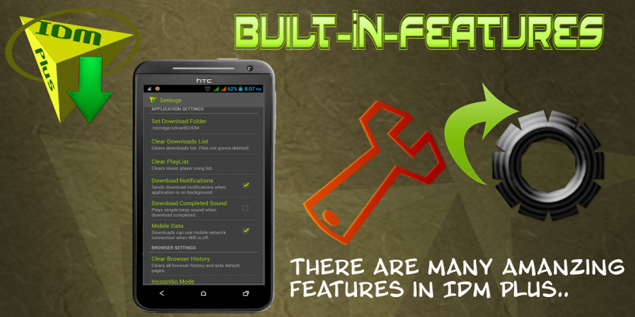 Idm Plus Download Manager 6 21 15 Download Apk For Android Aptoide