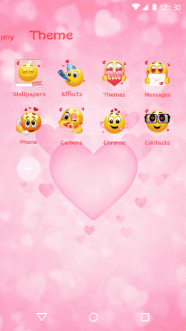 download gambar terlucu  pink emoji 2018 love wallpaper theme 1 0 0 download apk