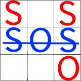 SOS Spiel Icon