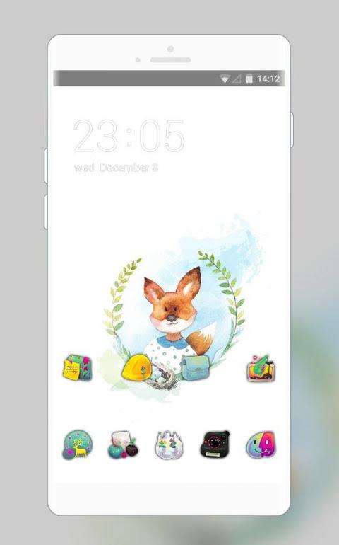 Image of: Cat Kawaii Animal Theme Cute Baby Fox Live Wallpaper Screenshot Aptoide Kawaii Animal Theme Cute Baby Fox Live Wallpaper 100 Download Apk