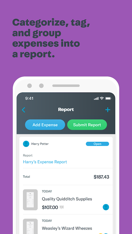 Expensify - Expense Reports screenshot 1