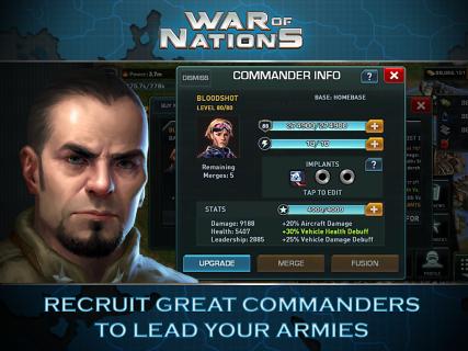War of Nations: PvP Domination screenshot 9