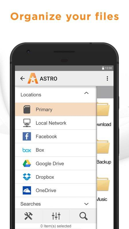 ASTRO File Manager BETA screenshot 1