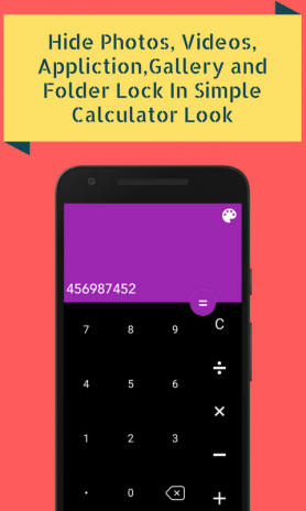 Calculator Vault Gallery Lock 1 4 Download APK for Android