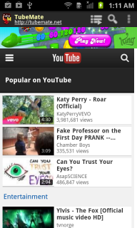 TubeMate YouTube Downloader screenshot 1