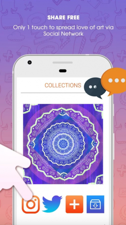 Mandala Coloring Book For Adults Screenshot 4