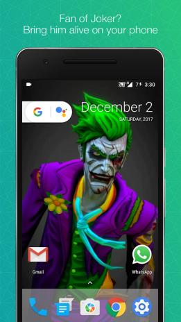 Joker Live Wallpaper - Nosirix