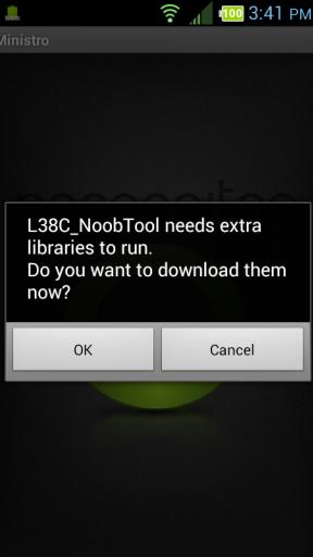 Root LG Optimus Dynamic (LGL38C) Screenshot