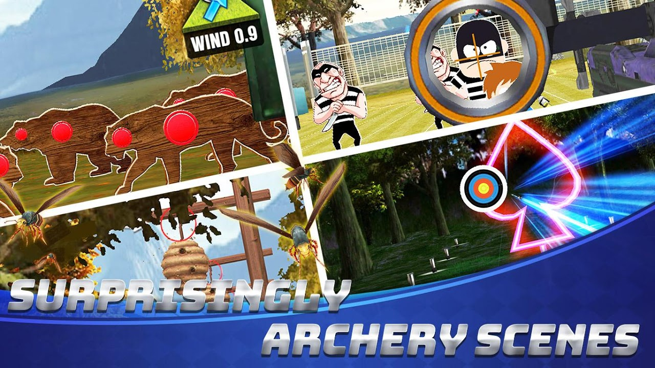 Archery Champs - Arrow & Archery Games, Arrow Game screenshot 1