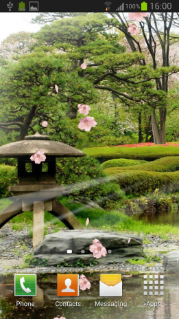 Zen Garden Live Wallpaper Screenshot 5