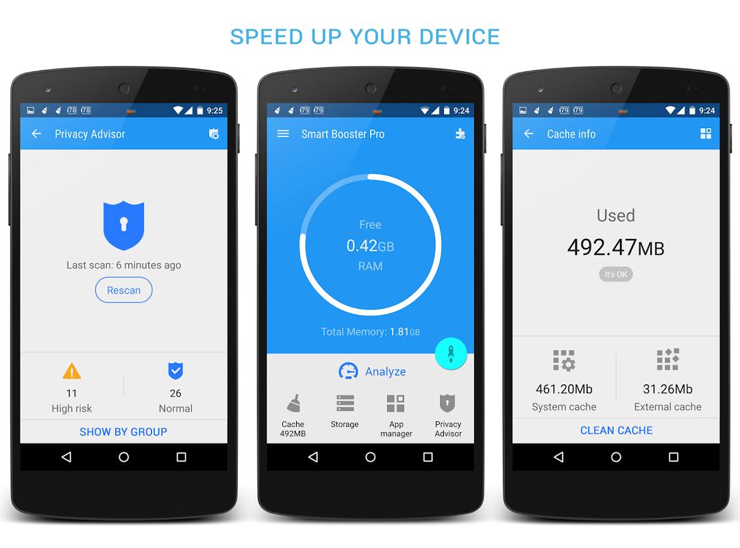 Smart Booster Pro screenshot 1