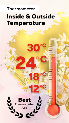 Thermometer: Weather, Body Temperature, Forecast screenshot 1