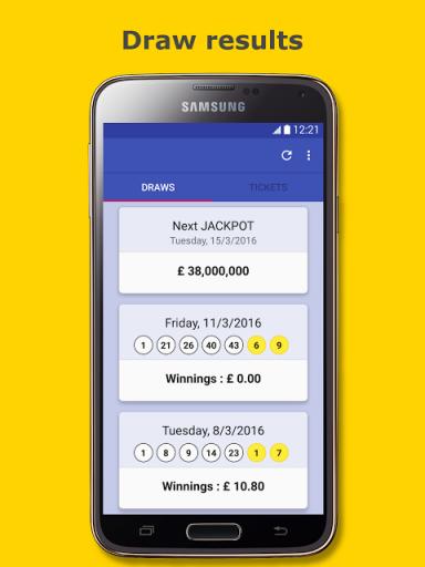 euromillions app