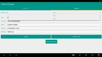 Device Id IMEI Changer Xposed Screenshot
