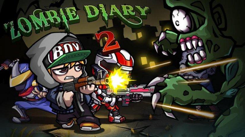 Baixar Zombie Diary 2 Hackeado e Atualizado 2018 Com Dinheiro Infinito - Winew, money unlimited