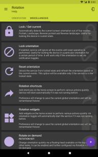 Rotation - Orientation Manager screenshot 5