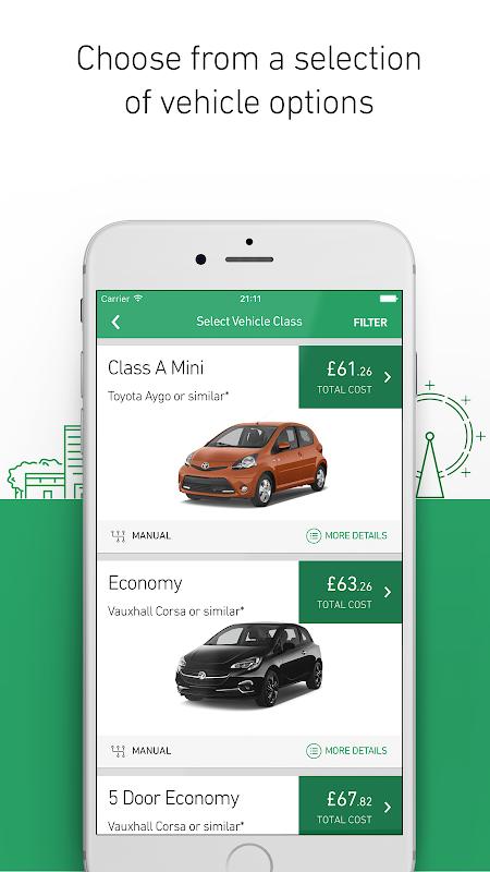 Enterprise Rent-A-Car screenshot 3