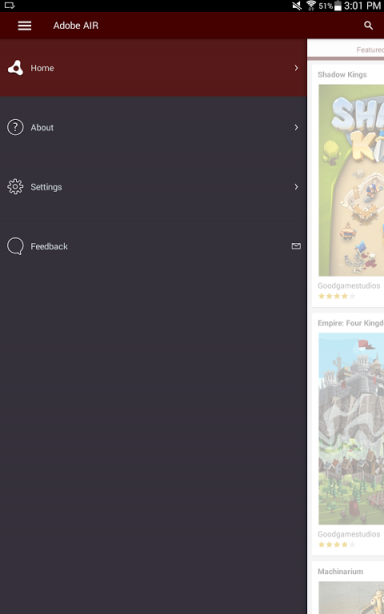 how to make an app with adobe air