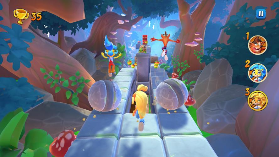 Crash Bandicoot: On the Run! screenshot 4