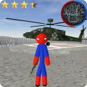 Spider Stickman Rope Hero Gangstar Crime