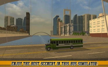 High School Bus Driver 2 v 1.9 Мод (Unlocked/Ads-free) 2