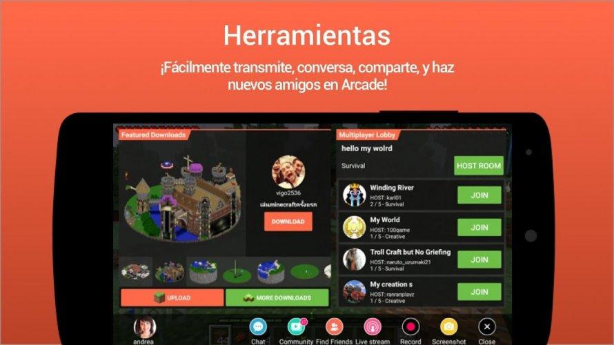 Omlet Arcade - Transmitir en vivo y grabar juegos screenshot 6