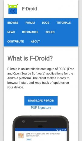 F-Droid 1 0 Download APK for Android - Aptoide