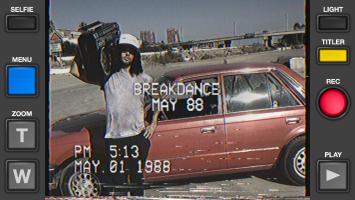 Rarevision VHS Camcorder 📼📹 Retro 80s Cam Screen