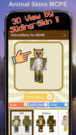 Skins For Minecraft Animals PE Descargar APK Para Android Aptoide - Skins para minecraft pe de animales