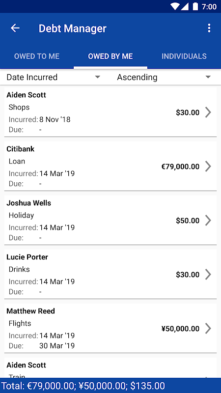 Debt Manager and Tracker Pro screenshot 2
