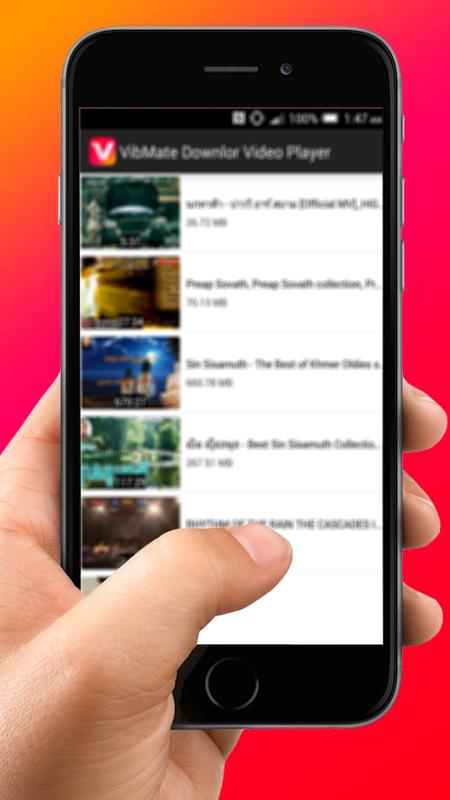 VibMate Downlor Video Player screenshot 2