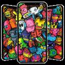 Doodle Art Wallpaper 😈 👽 👾