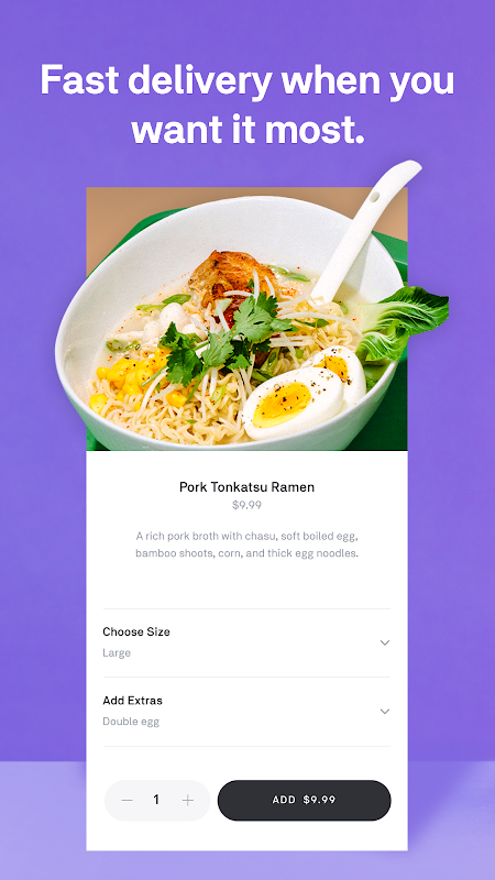 Postmates - Local Restaurant Delivery & Takeout screenshot 1