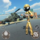 US Army Stickman Counter Rope Hero 3D